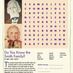 Do You Know the Smith Family?
