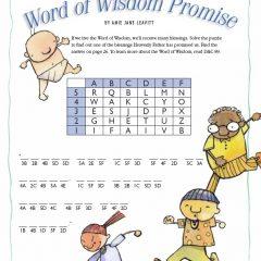 Word of Wisdom Promise