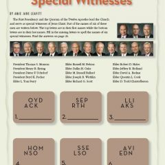 Special Witnesses