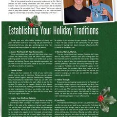 Establishing Your Holiday Traditions